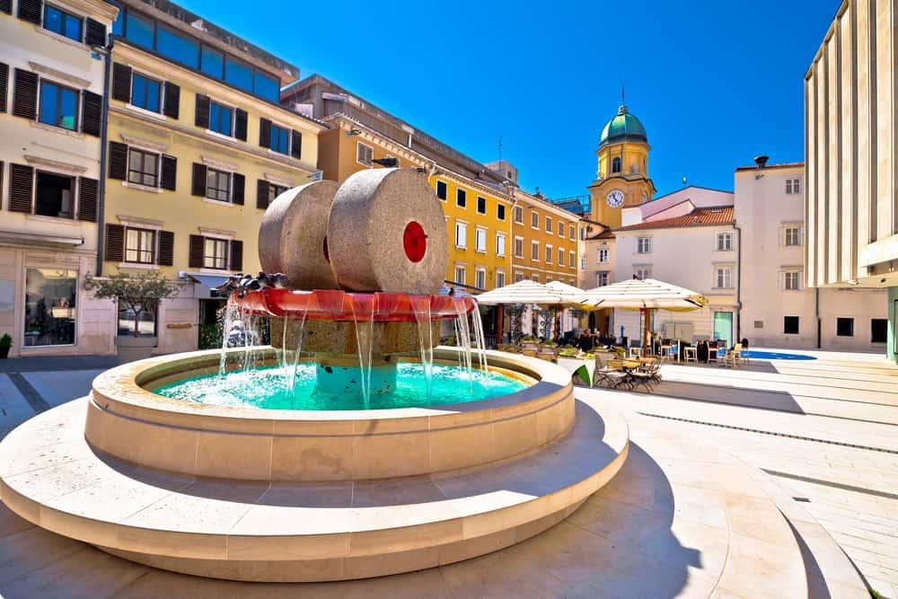 Rijeka Croatia old town