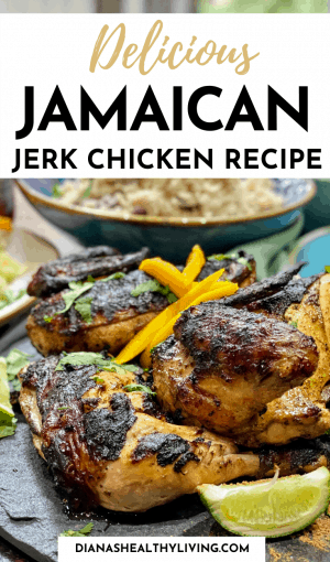 Jamaican food - Jamaican jerk chicken