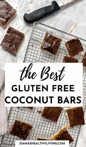GLUTEN FREE CHOCOLATE COCONUT BARS