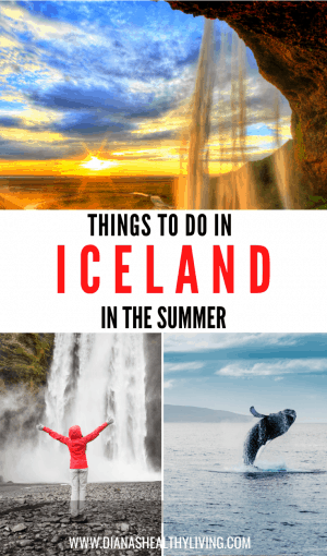 iceland in the summer