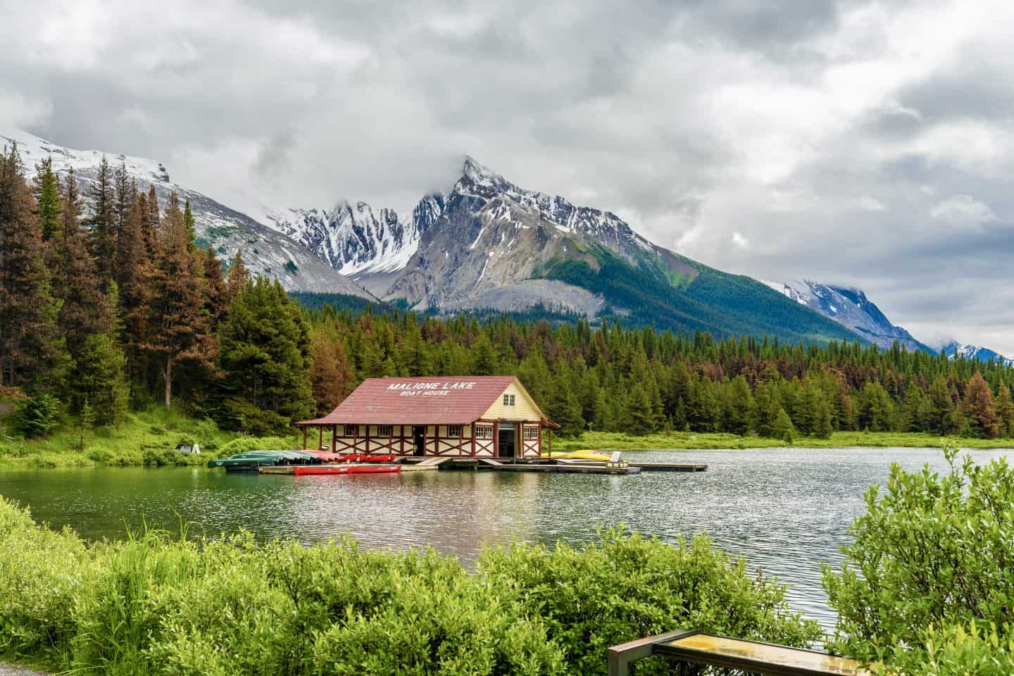 Jasper National Park itinerary