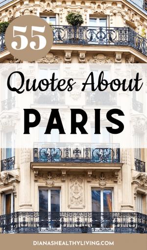 PARIS QUOTES QUOTES ABOUT PARIS