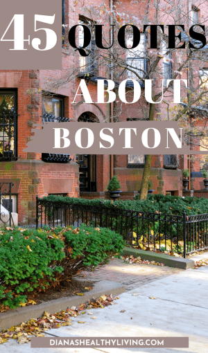 QUOTES ABOUT BOSTON