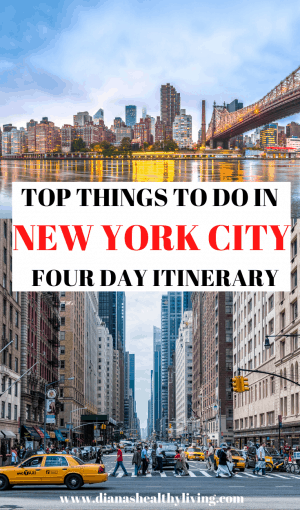 4 days new york itinerary 4 days in new york itinerary new york winter new york in the winter