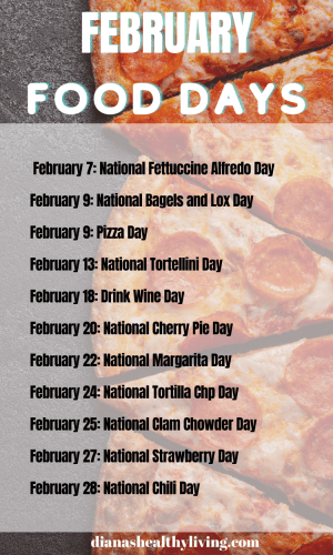 NATIONAL FOOD DAYS CALENDAR OF NATIONAL FOOD DAY FOOD HOLIDAYS FOODIE HOLIDAYS NATIONAL WHAT DAY IS TODAY TODAY IS WHAT NATIONAL DAY